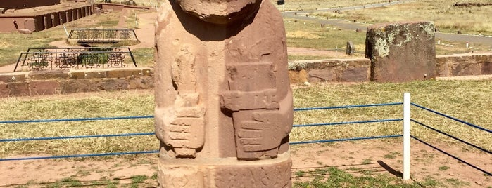Museo del Sitio de Tiwanaku is one of UNESCO World Heritage Sites in South America.