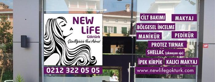 New Life Göktürk Güzellik ve Kuaför is one of สถานที่ที่ Bulent ถูกใจ.