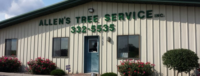Allen's Tree Service, Inc. is one of Gespeicherte Orte von Zack.