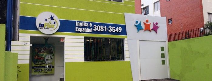 InFlux English School - Pinheiros is one of O que faço sempre.