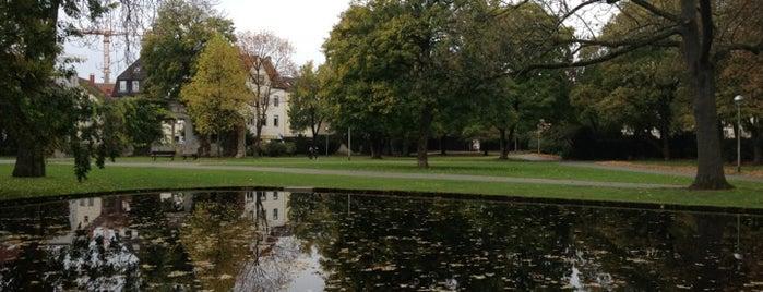 Ravensberger Park is one of Bielefeld.