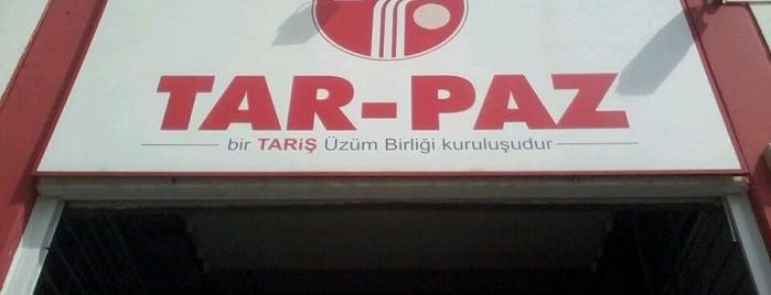 Tariş Tarpaz Üzüm Birliği is one of Orte, die MUTLU gefallen.
