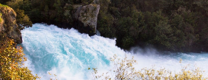 Huka Falls is one of New Zealand.