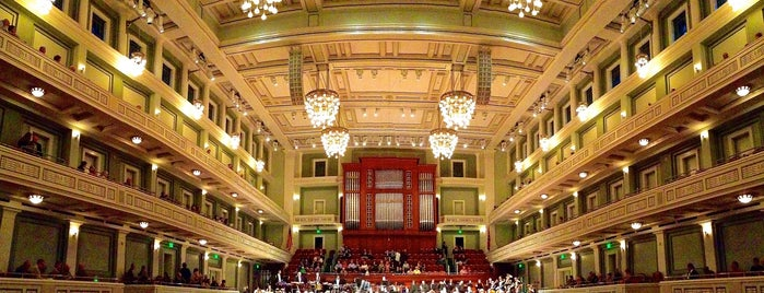 Schermerhorn Symphony Center is one of Nashville.