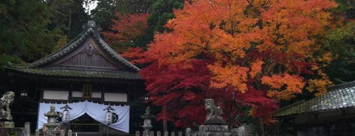吉御子神社 is one of 近江 琵琶湖 若狭.