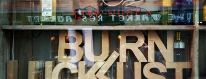 Luck Lust Liquor & Burn is one of Whit 님이 저장한 장소.