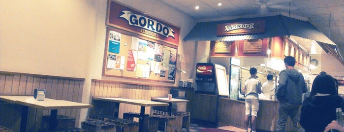 Gordo Taqueria is one of Baby's first time SF!.