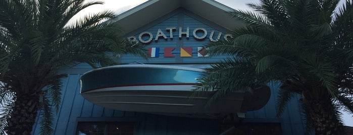 The BOATHOUSE is one of Orlando.