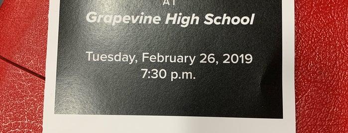 Grapevine High School is one of Mike : понравившиеся места.