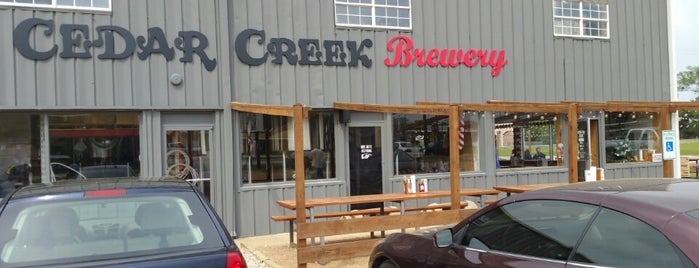 Cedar Creek Brewery is one of Orte, die Claudia gefallen.