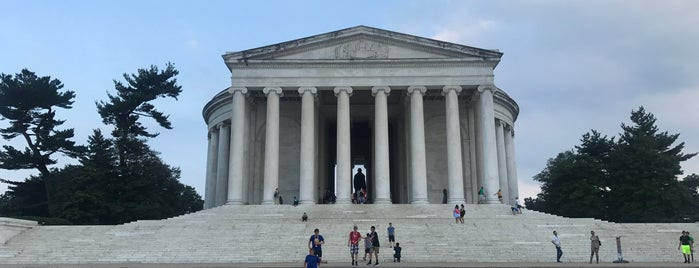 Thomas Jefferson Memorial is one of Lieux qui ont plu à Kris.