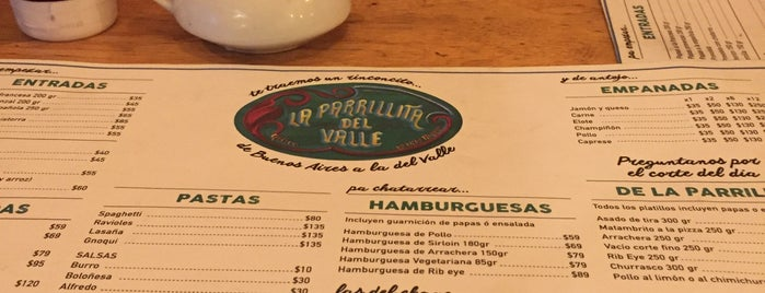 LA PARRILLITA DEL VALLE is one of Irlysさんのお気に入りスポット.