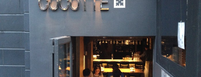 Cocotte is one of restaurants I can walk to.