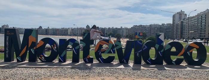 Letrero Montevideo is one of Montevideo.