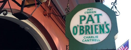 Pat O'Brien's is one of New Orleans.