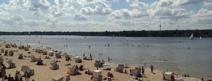 Strandbad Wannsee is one of Berlin #4sqcities.