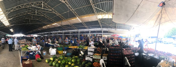 dalaman pazar yeri is one of สถานที่ที่ Damla ถูกใจ.