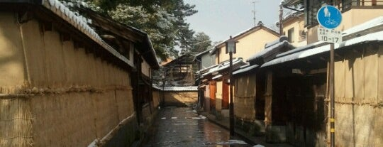 Naga-machi Buke Yashiki District is one of Kanazawa To-Do.