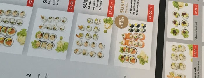 Sushi Bistro is one of Locais curtidos por Alice.
