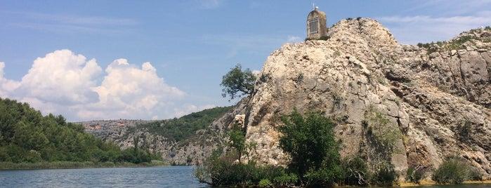 Visovačko Jezero is one of Croacia.