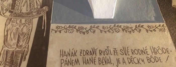 Hanácká hospoda is one of Eva'nın Beğendiği Mekanlar.