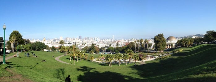 Mission Dolores Park is one of Trips / San Francisco, CA, USA.
