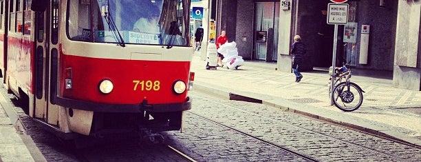 Národní třída (tram) is one of Prague.