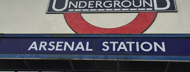 Arsenal London Underground Station is one of London.