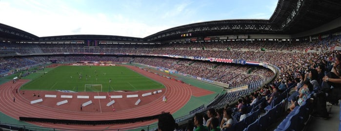 Nissan Stadium is one of outsiders....