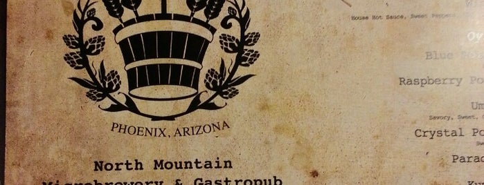 North Mountain Brewing Company is one of Phoenix, AZ.