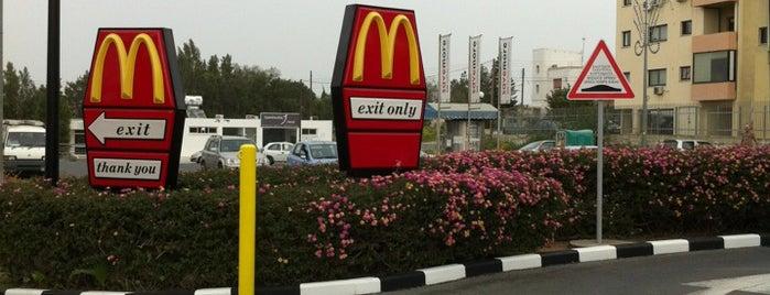 McDonald's is one of Lieux qui ont plu à Bego.