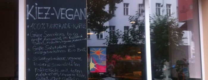 Kiez Vegan is one of v love berlin - the vegan side of berlin.