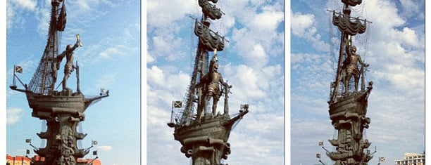 Peter The Great Statue is one of Russia10.