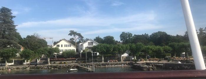 Corsier Port is one of สถานที่ที่ David ถูกใจ.