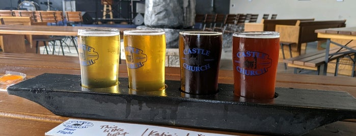 Castle Church Brewing Community is one of Must See Disney.