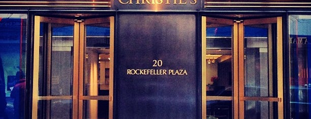 Christie's is one of New York.