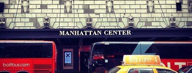 Manhattan Center is one of Fleurs NYC.