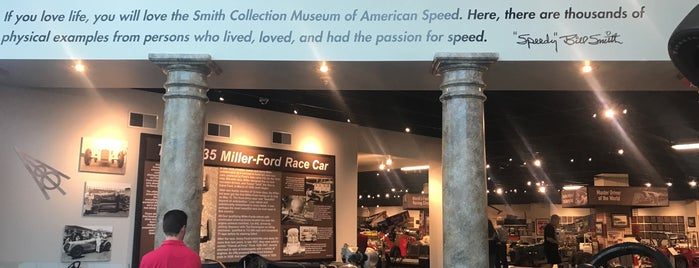 Museum Of American Speed is one of Lincoln.