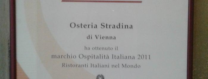 Osteria Stradina is one of Lugares favoritos de Thom.