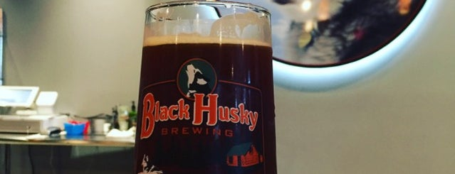 Black Husky Brewery is one of milwaukee.