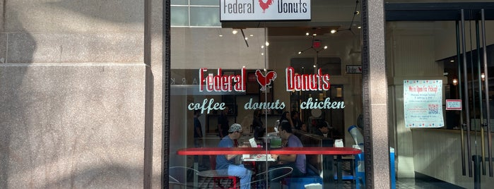 Federal Donuts is one of philadelphia.