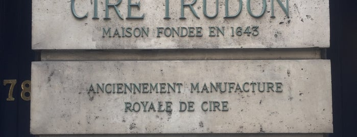 Cire Trudon is one of Paris.