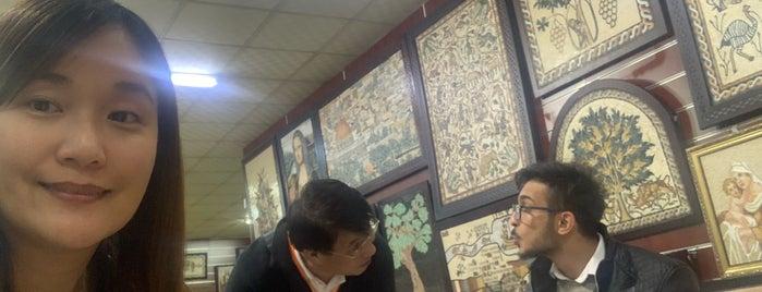 Mosaic Workshop is one of Jordan #notMichael.