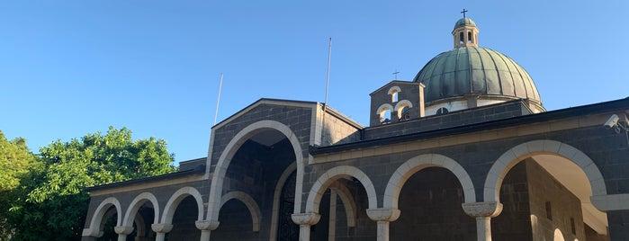 Church of the Beatitudes is one of Lieux qui ont plu à Bridget.