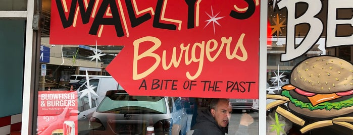 Wally's Burgers is one of Vancouver.