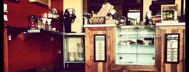 Bird Rock Coffee Roasters is one of La Jolla-San Diego Weekend Dining List.