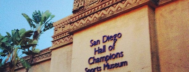 San Diego Hall of Champions Sports Museum is one of John'un Beğendiği Mekanlar.