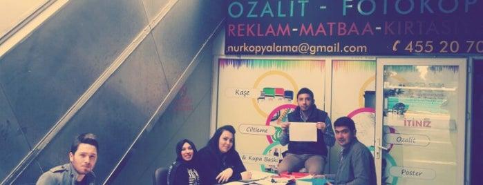 nurcopy ozalit is one of Deniz'in Beğendiği Mekanlar.