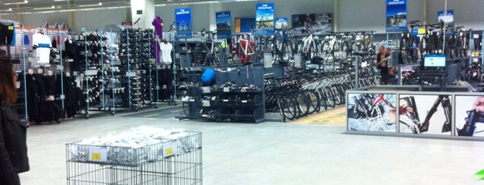 Decathlon is one of Lugares favoritos de Eymen.