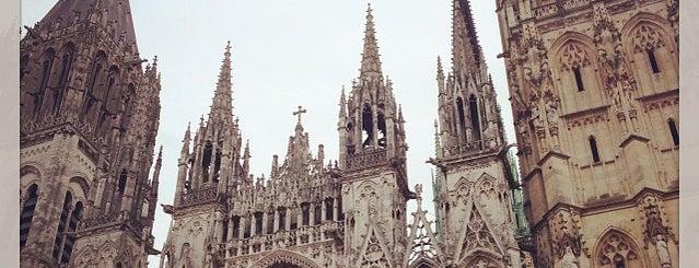 Cathédrale Notre-Dame de Rouen is one of Bienvenue en France !.